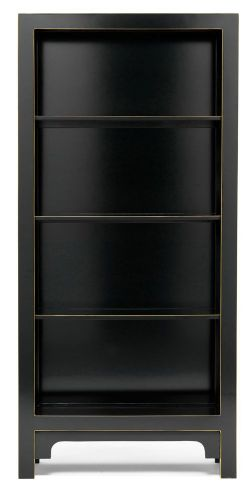 Black and Gilt Bookcase